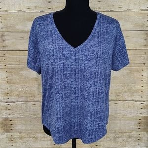 Roudelain Soft Blue High Low Tee